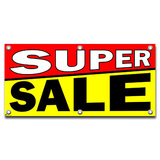 Super Sale - Retail Store Business Sign Banner