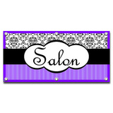 Salon Elegant - Hair Barber Business Sign Banner