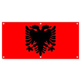 Albania Flag - International Celebration Party Banner