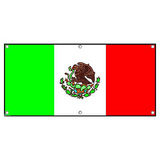 Mexico Mexican Flag Party Fiesta Cinco De Mayo - International Celebration Banner