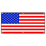 USA American Flag Patriotic Fourth 4th July United States - Party Celebration Banner