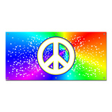 Peace Rainbow - School Sign Banner