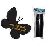 Butterfly - Large Chalkboard Vinyl Wall Sticker