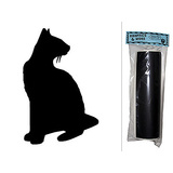 Cat Siamese Chalkboard Vinyl Wall Sticker