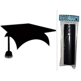 Graduation Cap Chalkboard Vinyl Wall Sticker