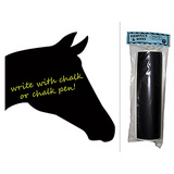 Horse Head Chalkboard Vinyl Wall Sticker