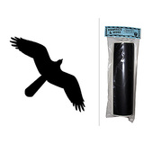 Hawk Chalkboard Vinyl Wall Sticker