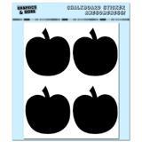 Pumpkins - Halloween Thanksgiving Fall - 4 Sheets Chalkboard Stickers