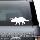 Triceratops Dinosaur Decal