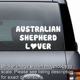 Australian Shepherd Lover Decal