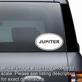 Jupiter Euro Oval Decal