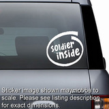 Soldier Inside Decal