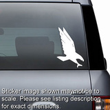 Diving Eagle Hawk Decal