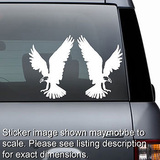Eagles Decals - Set of 2
