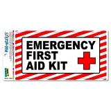 Emergency First Aid Kit - Business Store Sign MAG-NEATO
