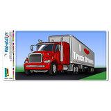 I Love Heart Truck Drivers - Tractor Trailer Trucker MAG-NEATO