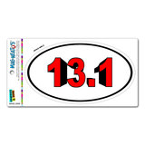 13.1 Bold Red - Runner Running Euro Oval MAG-NEATO