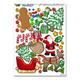 Christmas Mash-up - Holiday Santa Reindeer Elves Gingerbread Man Tree Presents MAG-NEATO