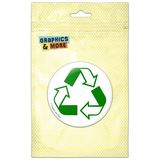 Recycle Reuse Conservation Hybrid Pinback Button Pin Badge