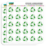 "Recycle Reuse Conservation Hybrid 1"" Scrapbooking Crafting Stickers"