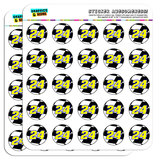 "Number 24 Checkered Flag Racing 1"" Scrapbooking Crafting Stickers"