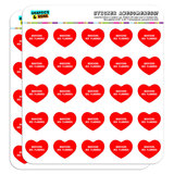 """I Love Heart - Dogs - Bouviers des Flandres - 1"""" Scrapbooking Crafting Stickers"""