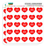 """I Love Heart - Dogs - Boykin Spaniels - 1"""" Scrapbooking Crafting Stickers"""