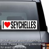 I Love Seychelles Sticker