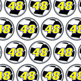 Number 48 Checkered Flag Racing Premium Gift Wrap Wrapping Paper Roll