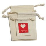 XOXO Heart - Wedding Bridal Baby Birthday Shower Valentines Love Gift Bag