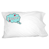Dreaming of Eagles - Blue Pillowcase