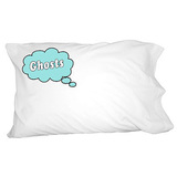 Dreaming of Ghosts - Blue Pillowcase