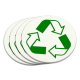 Recycle Reuse Conservation Hybrid Coaster Set