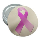 Breast Cancer Pink Ribbon Round Rubber Non-Slip Jar Gripper Lid Opener