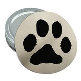 Paw Print Pet Dog Cat Round Rubber Non-Slip Jar Gripper Lid Opener