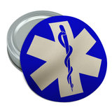 Star of Life Medical Health EMT RN MD Round Rubber Non-Slip Jar Gripper Lid Opener
