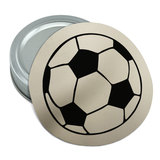 Cartoon Soccer Ball Football Round Rubber Non-Slip Jar Gripper Lid Opener