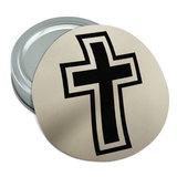 Cross Christian Religious Round Rubber Non-Slip Jar Gripper Lid Opener