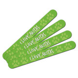 I Love Akitas Double-Sided Nail File Emery Board Set 4 Pack