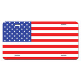 USA Flag United States American - Patriotic Novelty License Plate
