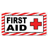 First Aid Kit - Business Sign Novelty License Plate