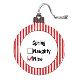 Spring is Nice Acrylic Christmas Ornament