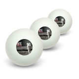 Astronaut Moon Landing 1969 American Flag Novelty Table Tennis Ping Pong Ball 3 Pack