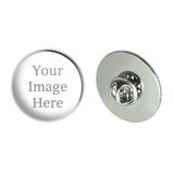 Custom Large Round Lapel Hat Pin Tie Tack
