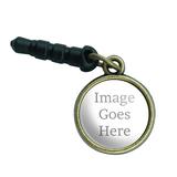 Custom Mobile Phone Brass Charm