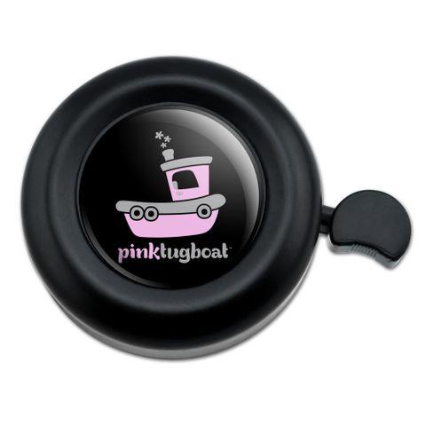 Pink Tugboat Tug Boat Logo Bicycle Handlebar Bike Bell