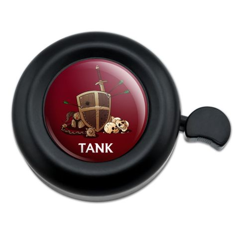 Tank Warrior RPG MMORPG Class Role Playing Game Bicycle Handlebar Bike Bell