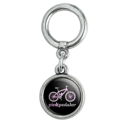 Pink Pedaler Mountain Bike Bicycle Logo Shoe Sneaker Shoelace Charm Decoration