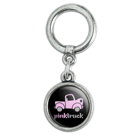 Pink Classic Pickup Truck Logo Shoe Sneaker Shoelace Charm Decoration