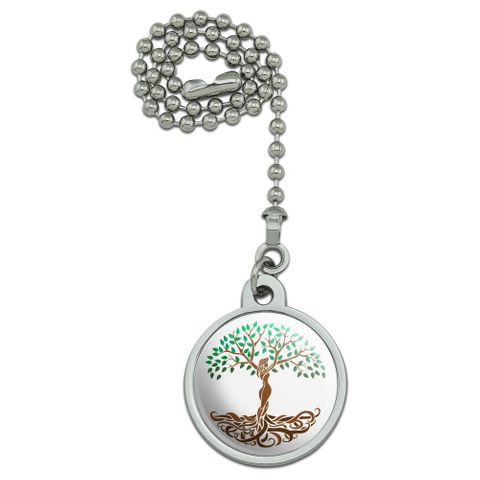 Tree of Life Mother Nature Ceiling Fan and Light Pull Chain